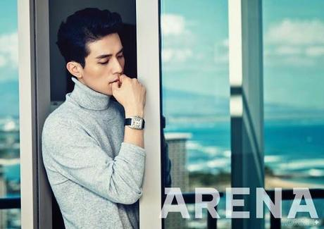 Eye Candy : Lee Dong Wook for Arena Homme+