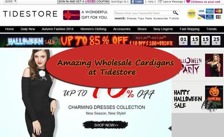 Amazing Wholesale Cardigans at Tidestore