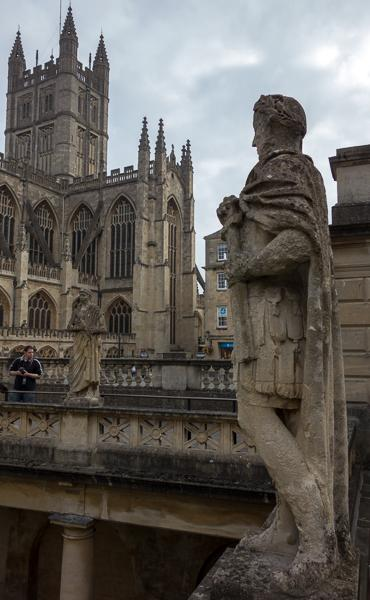 Sculpture and Bath Abbey