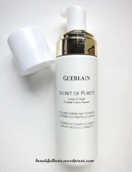 Guerlain Secrete de Purete cleansing foaming cream 1