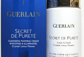 Review Guerlain Secret De Purete Cleansing Foaming Cream Paperblog