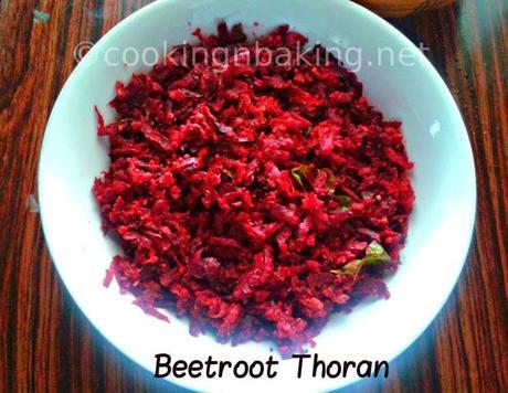 Beetroot Thoran