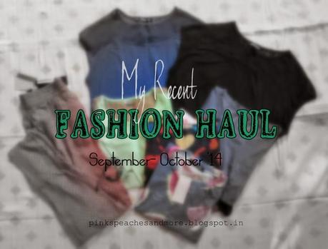 My Recent Fashion Haul| Harpa, People, OASAP, D-Muse, Crunchy Fashion