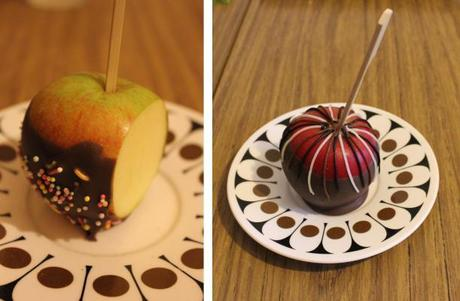 chocolate apples recipe for national chocolate week pieday friday for halloween 2013