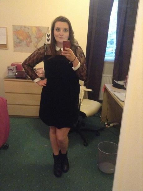 OOTD || Evening Out River Island Dress