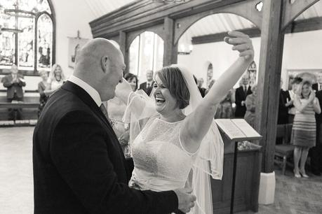Ecstatic Bride - Why I Love This Picture