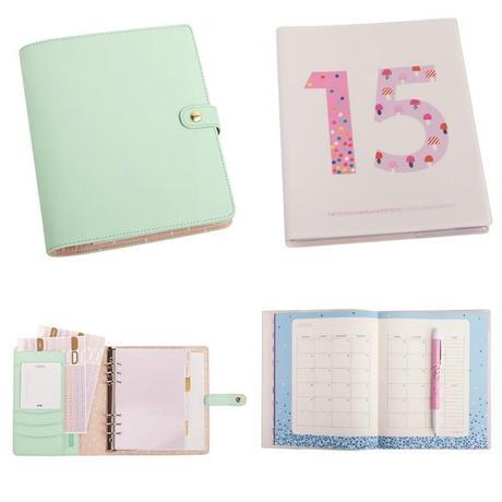 kikki k personal planner mint cute diary