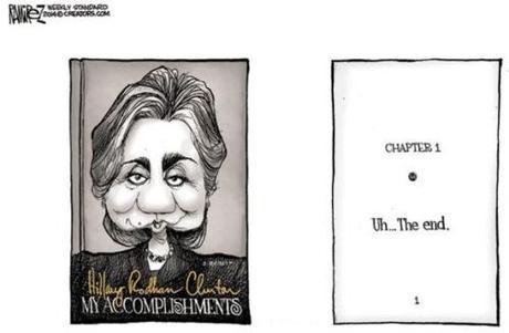 Hillary's accomplishments