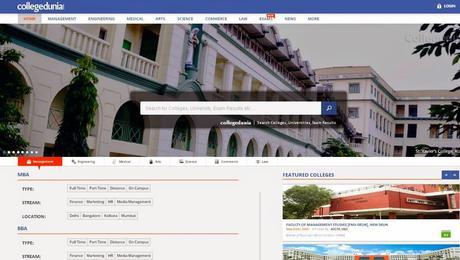 collegedunia.com - Website Review