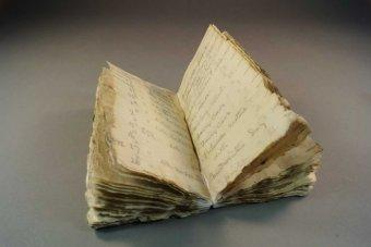 Notebook From Ill-Fated Antarctic Expedition Discovered in Ice