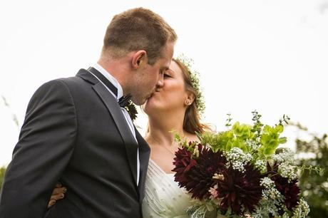 Andrew and Kate's August Wedding with Tuckshop Flowers