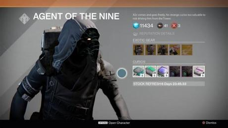 Destiny: Xur location and exotic inventory for October 24, 25