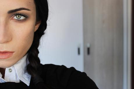 Wednesday Addams Halloween Makeup Tutorial