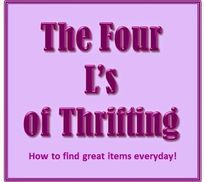 Frugal Fashion Friday - The Four L's of Thrifting