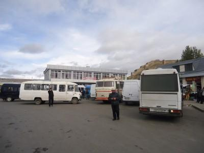 Arrival in Gori - an easy town to navigate around.