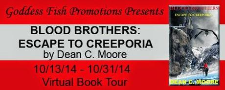 Blood Brothers: Escape to Creeporia by Dean C Moore: Interview