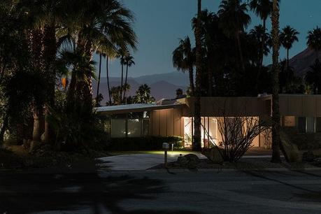 Midcentury modern house in Palm Springs