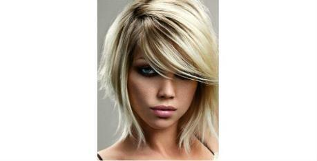 Layered Inverted Bob with Side-Swept Bangs