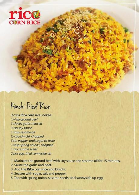 RiCo Corn Rice - A Healthy and Yummy Rice Alternative