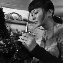 London's British Museum - Japanese metalworker - Junko Mori