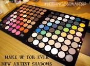 MAKE EVER Artist Shadows Photos, Swatches Details