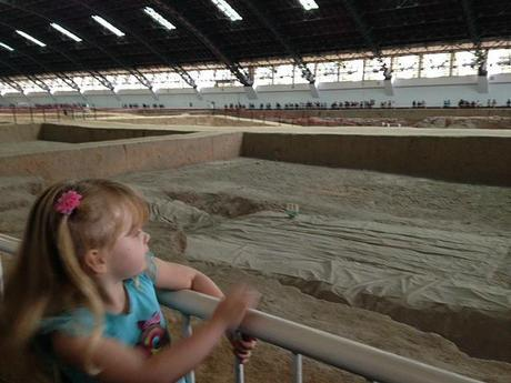 Ava at the Terracotta Warrior Pits