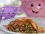 Sprouts Salad Recipe Kids with Sprouted Lentil