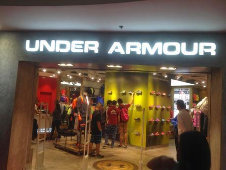 Under Armour Now in SM Megamall