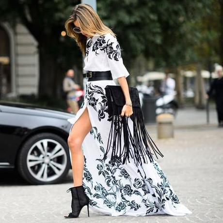 fringe-black-clutch-and-dramatic-dress
