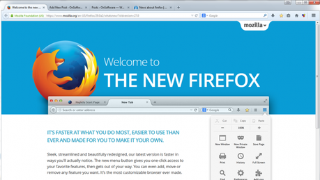Firefox gets a makeover and introduces user accounts
