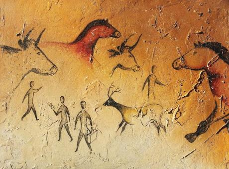 Modern Day Authentic Cave Paintings by Carruscaux