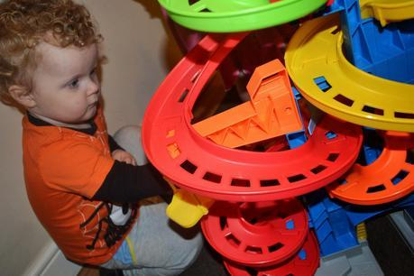 Fisher-Price Little People City Skyway Toy Review  #Babyologists