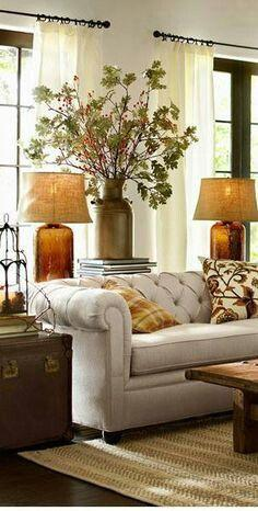 Home Decor in Warm Autumn Colors!