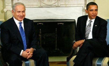 Who's the chicken shit? Benjamin Netanyahu or Barack Obama?
