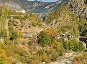 Glimpse Fall Turkish Mountains