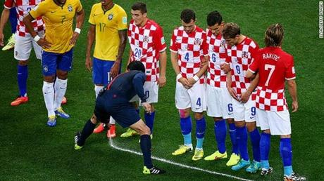 game changing 'vanishing spray' technology in Football