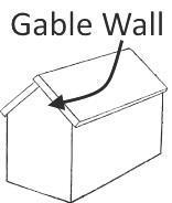 Gable Wall