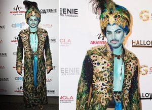 best celebrity halloween costumes 2013 adam lambert halloween 2013 look 300x218 mens fashion - Classic Mens Halloween Costumes
