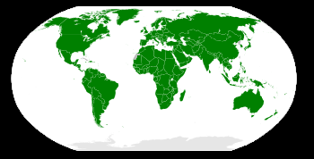 English: Member nations of the International M...