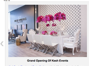 Kesh Events Grand Opening