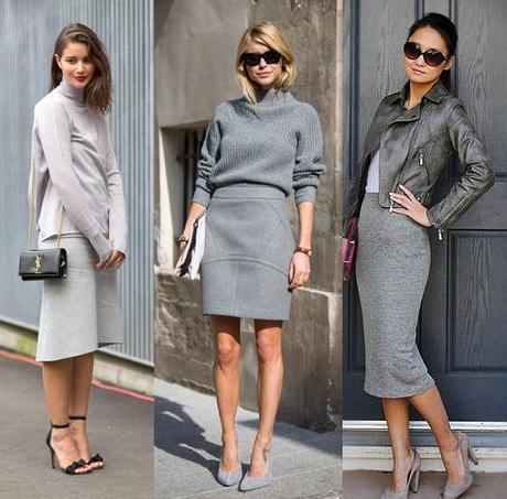 grey fashionThe It Fashion Color of the Season: Grey is the New Black