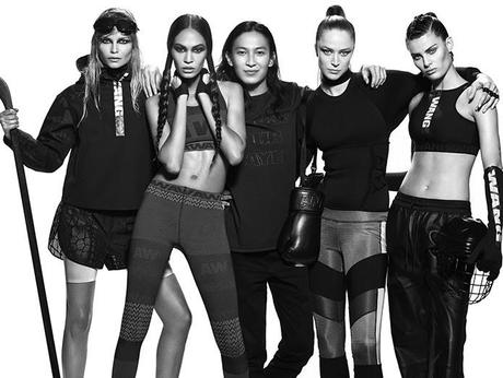 Futuristic Superhero Clothing: Alexander Wang for H&M