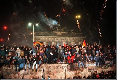German Unification - The 25th anniversary of the fall of the Berlin Wall