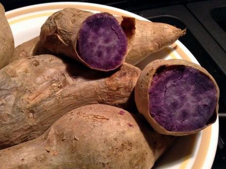 how to make sweet purple yam