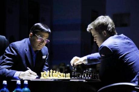 Viswanathan Anand pulls of sensational victory over Carlsen at Sochi (game 3)