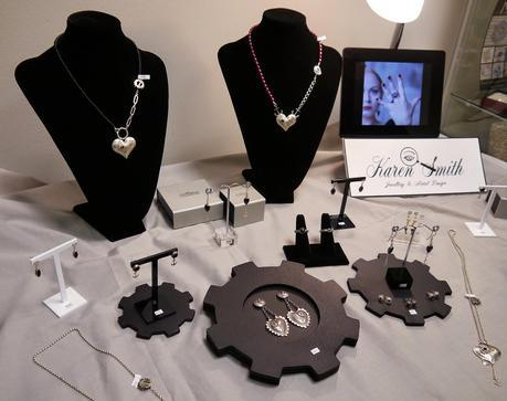 Karen Smith jewellery, Karen Smith, pop up shop, jewellery, Dundee, Time Lifestyle Boutique, Christmas Shopping