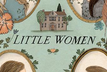 Book Traveling Thursdays  Gifts and Giving     greenish bookshelf Stray Thoughts   WordPress com Book Review  Little Women by  Louisa May Alcott
