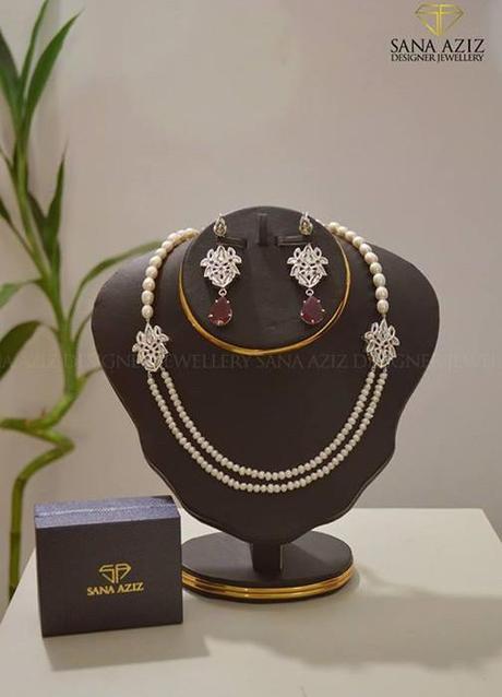What's new in Fashion jewellery scene? Sana Aziz – Designer Jewellery