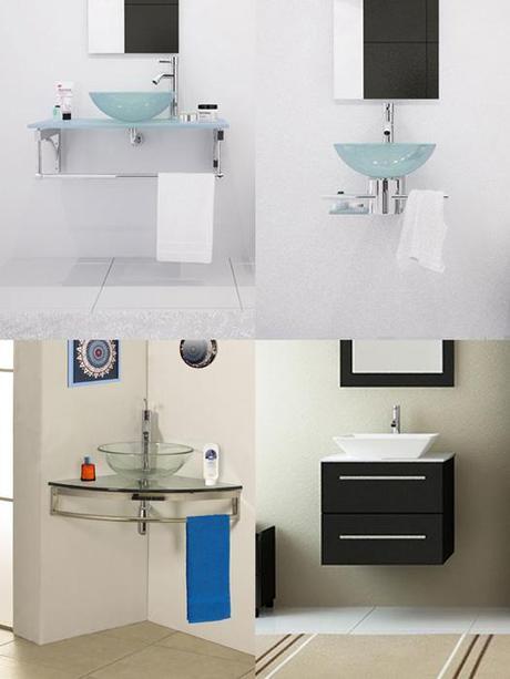 Small Wall Mounted Bathroom Vanities