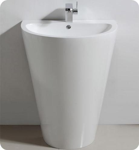 Parma Pedestal Sink from Fresca